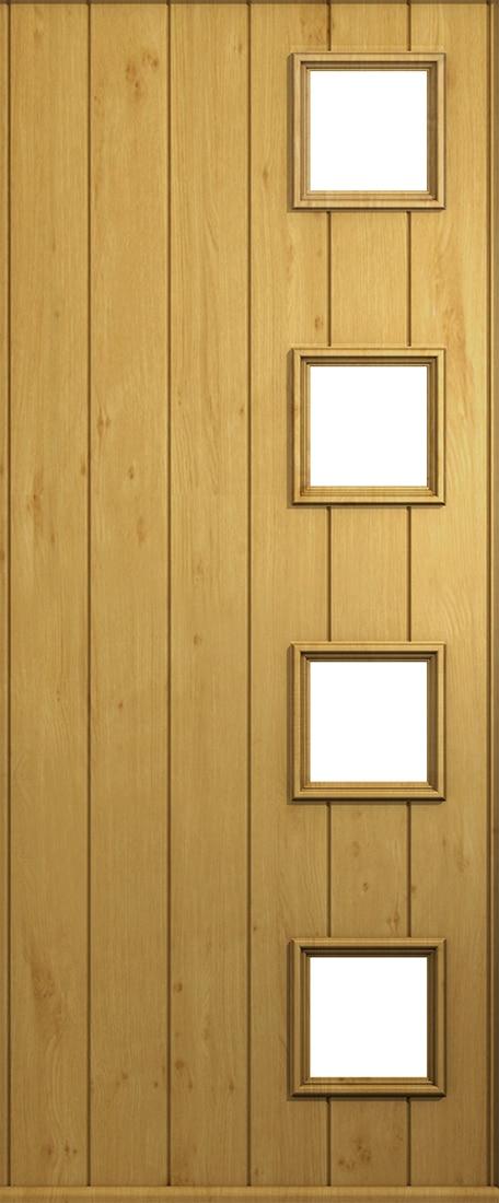 irish oak milano door