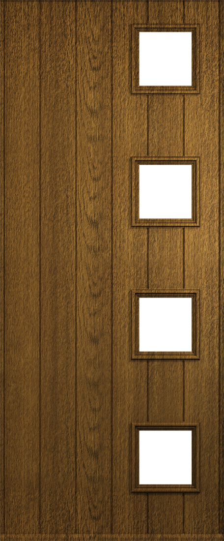 luxury mocha milano door & Walnut Coloured Doors From Solidor | Front Composite Doors