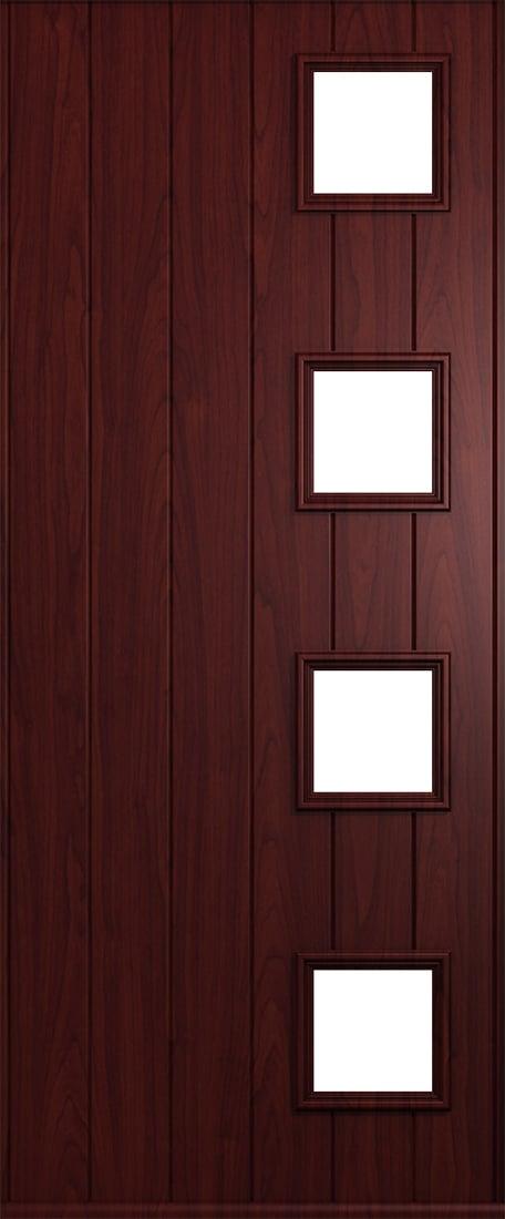 rosewood milano door