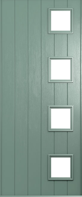 milano chartwell green door