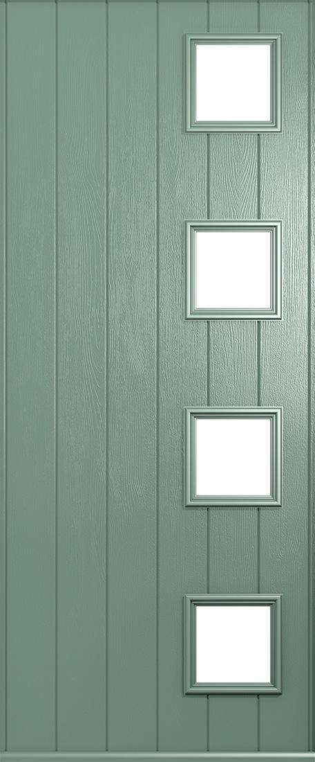 milano chartwell green door