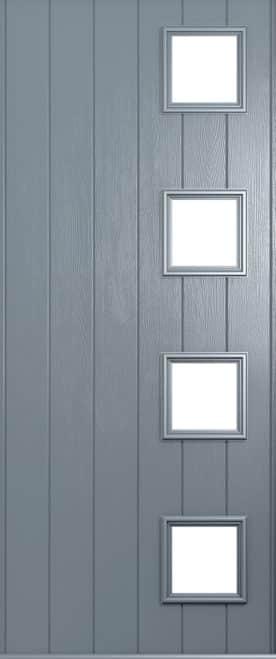 milano french grey door