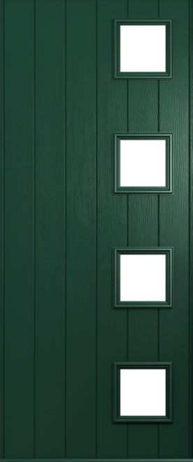 Milano Green frame & door colour