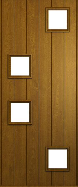 A Solidor Modena in Golden Oak