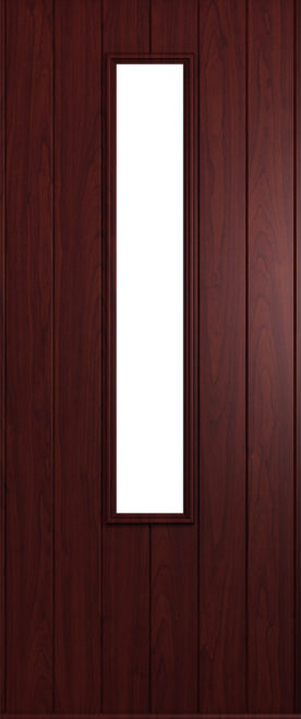 A Solidor Monza front door in Rosewood
