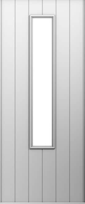 A Solidor Monza door in white