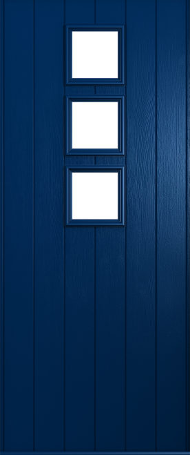 A Solidor Naples door in blue