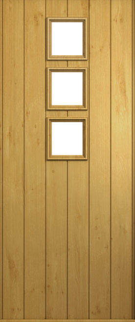 A Solidor Naples front door in Irish Oak