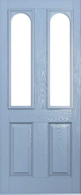 Duck Egg Blue Nottingham front door