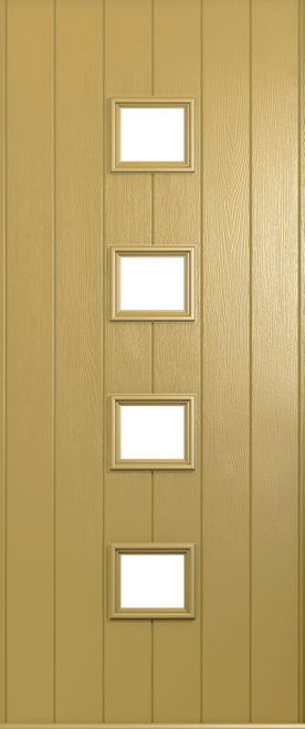 A Solidor Parma door in Golden Sand
