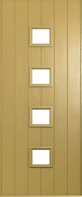 A Solidor Parma door in Golden Sand