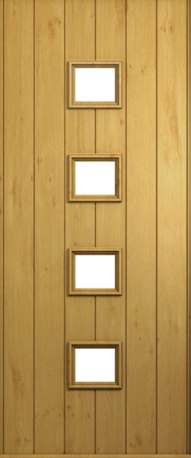 A Solidor Parma front door in Irish Oak