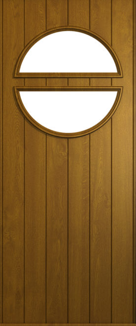 A Solidor Pisa door in golden oak