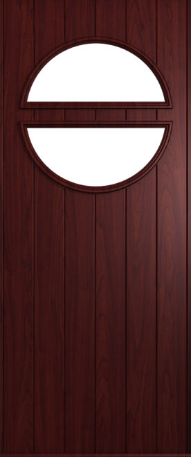 A Solidor Pisa front door in Rosewood