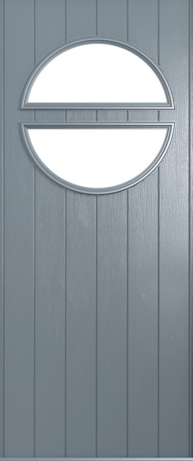A Solidor Pisa front door in French grey