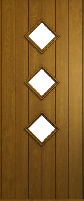 A Solidor Roma door in golden oak