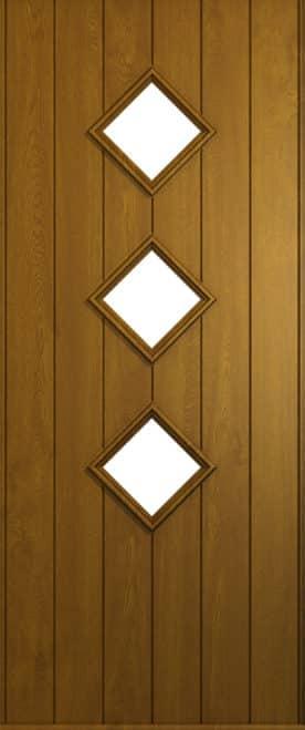 A Solidor Roma door in golden oak