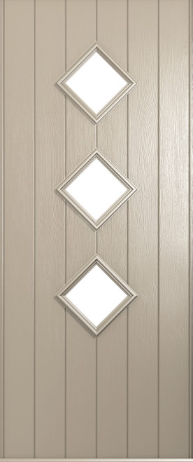 A Solidor Roma front door in cream