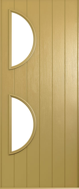 A Solidor Siena front door in golden sand