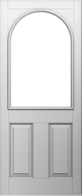 A Solidor Stafford door in white