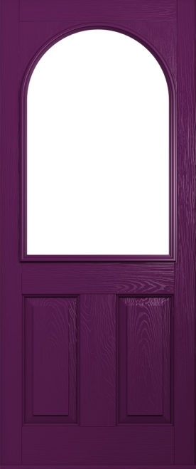 aubergine stafford front door