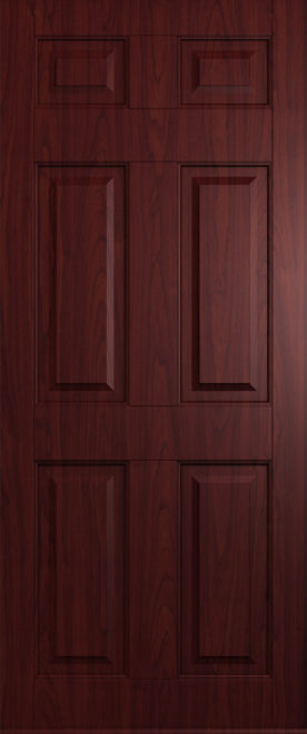 A Solidor Tenby Door in Rosewood