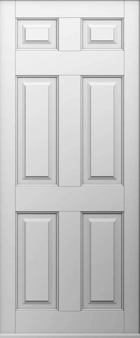 solid white tenby door