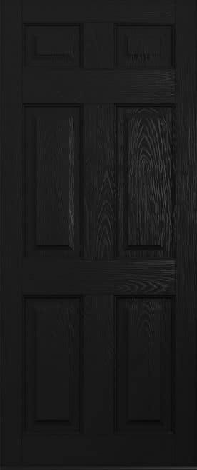 Black Tenby Solid Solidor