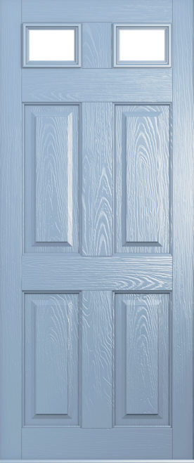 A Solidor Tenby door in duck egg blue
