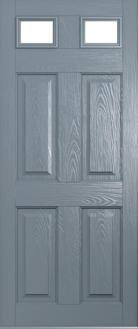 Tenby composite doors from solidor front doors for Grey french doors uk