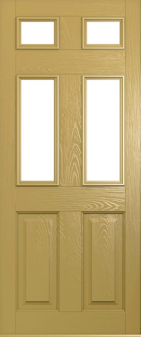 A Solidor Tenby door in golden sand