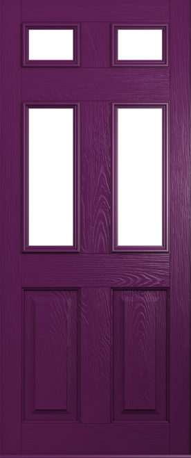 A Solidor Tenby in Rich Aubergine