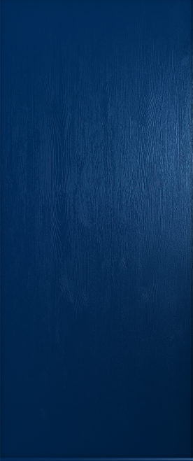 blue thornbury solid door