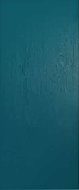 solid peacock blue thornbury door