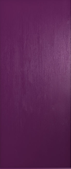 rich aubergine thornbury solid door