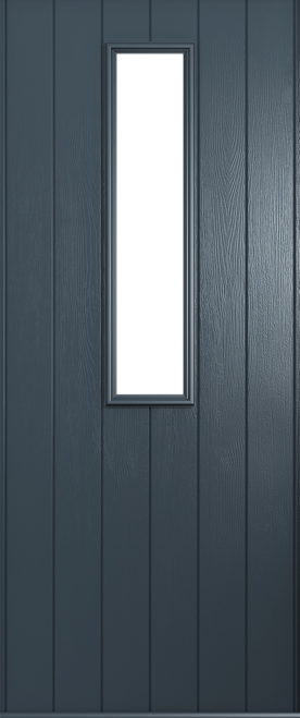 A Solidor Turin door in Anthracite grey
