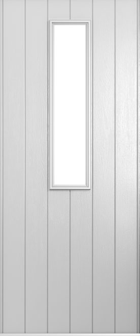 A Solidor Turin front door in foiled white