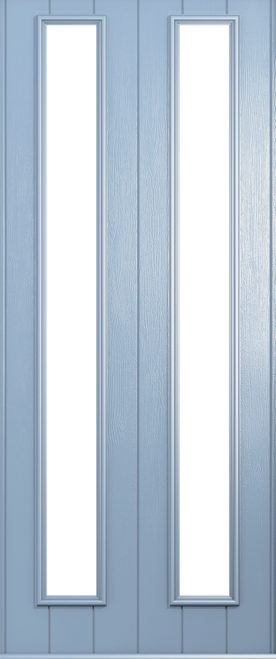 A Solidor Venice door in duck egg blue