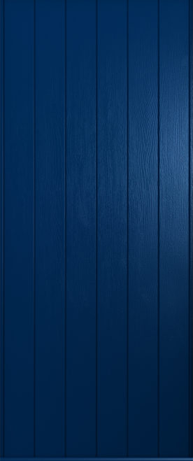 A solidor Verona door in solid blue