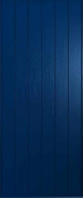 A solidor Verona door in solid blue