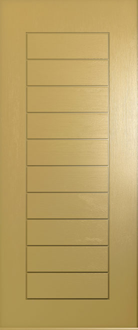 A Solidor Windsor door in golden sand