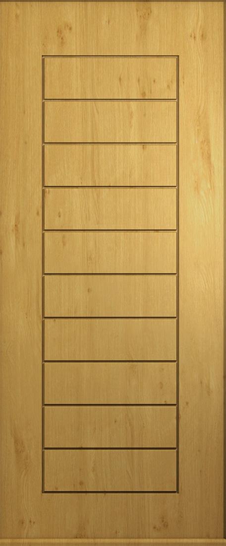 Windsor Solid Irish Oak Composite Door