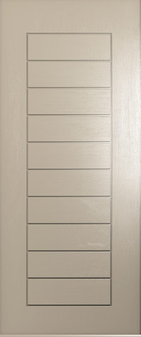 A Solidor Windsor Door in solid cream