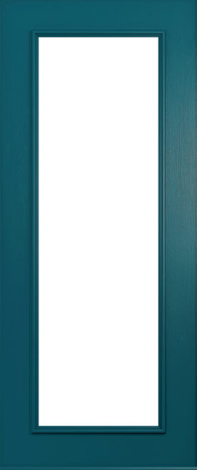 A Solidor Windsor door in Peacock Blue