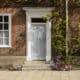 white berkeley composite front door