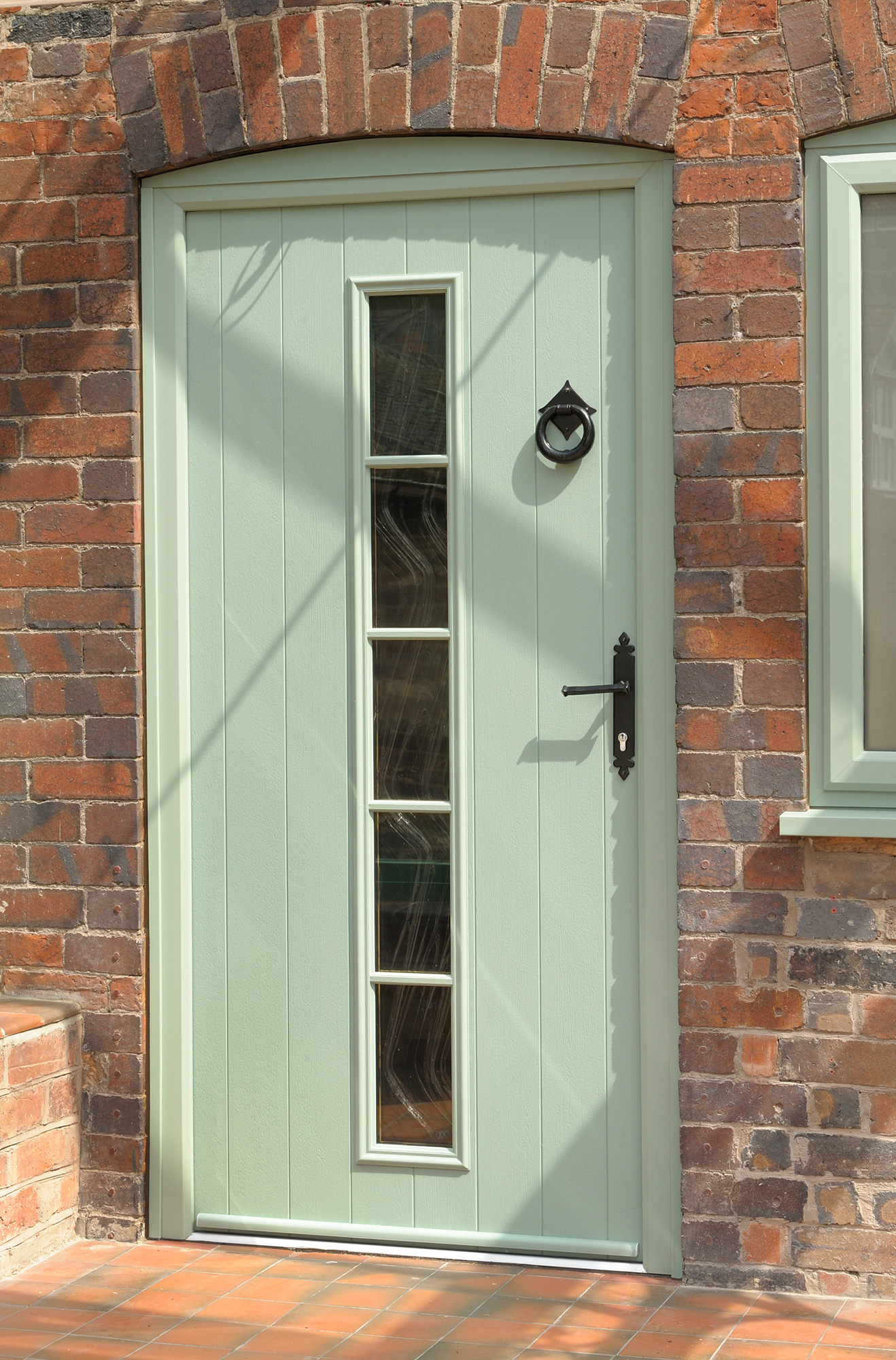 Antique doorshow solidor for Wood effect upvc french doors