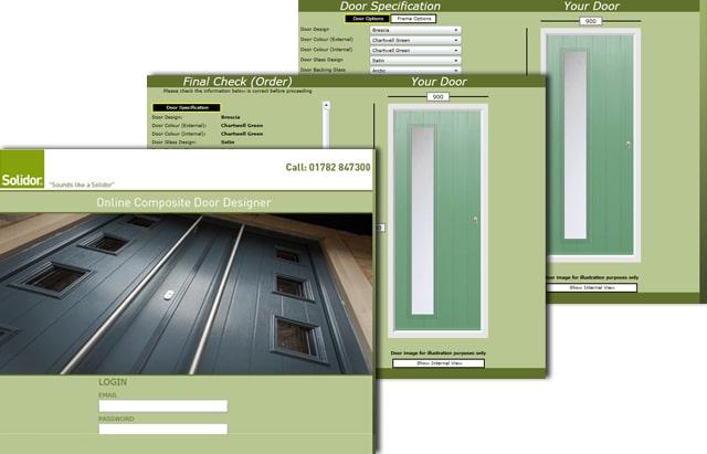 Solidor release new interactive door designer app solidor for Composite door design your own