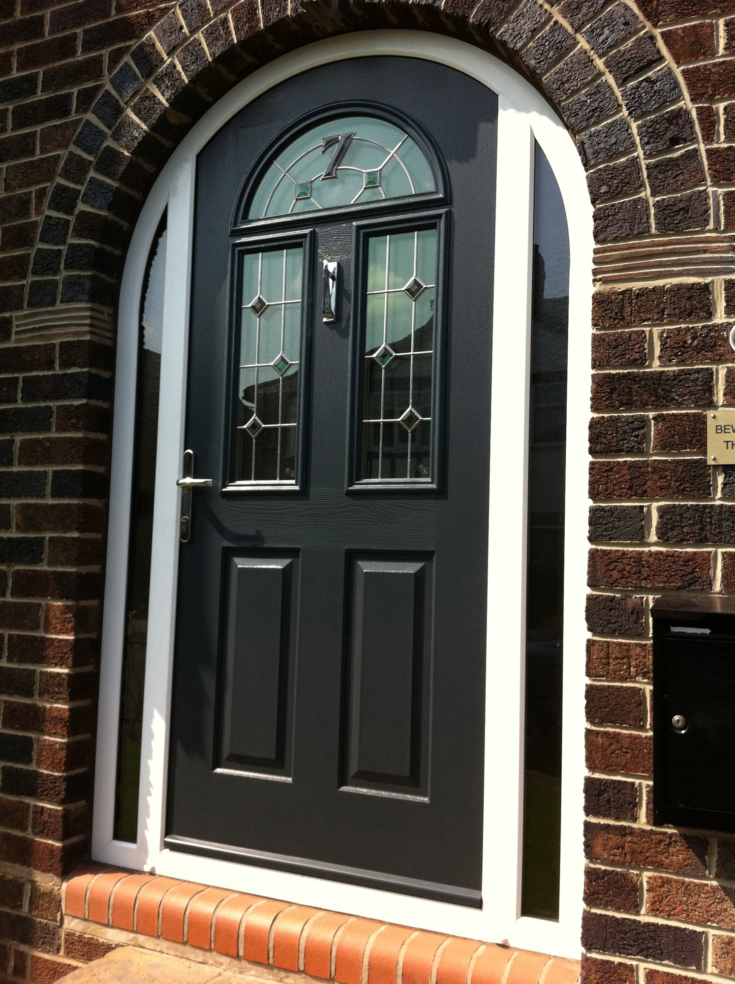 Arch Doors Amp Kw 121bf Krosswood Knotty Alder 2 Panel Top