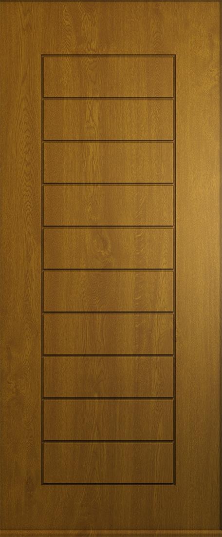 Golden oak Windsor solid door