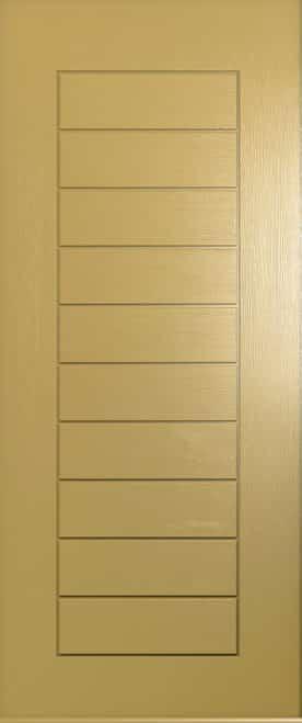 A Solidor Windsor door in golden sand